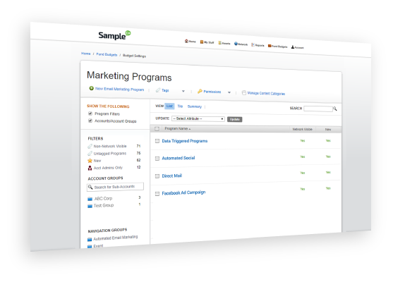 Automated Campaign Execution feature